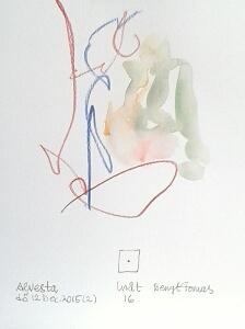 Akvarell Inåt 16