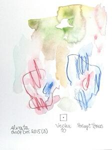 Akvarell Vecka 10