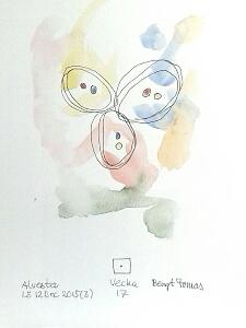 Akvarell Vecka 17