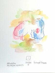 Akvarell Vecka 9