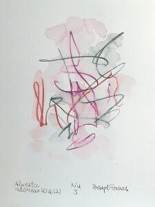Akvarell Nu 3