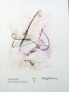 Akvarell Nu 7