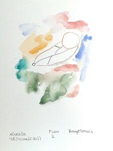 Akvarell Plan 2